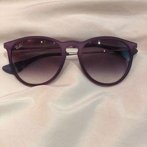 Custom Purple Erika Ray Ban Sunglasses